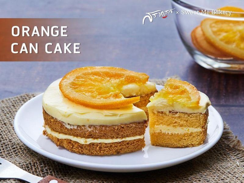 ORANGE CAN CAKE (ออเรนท์ แคน เค้ก)